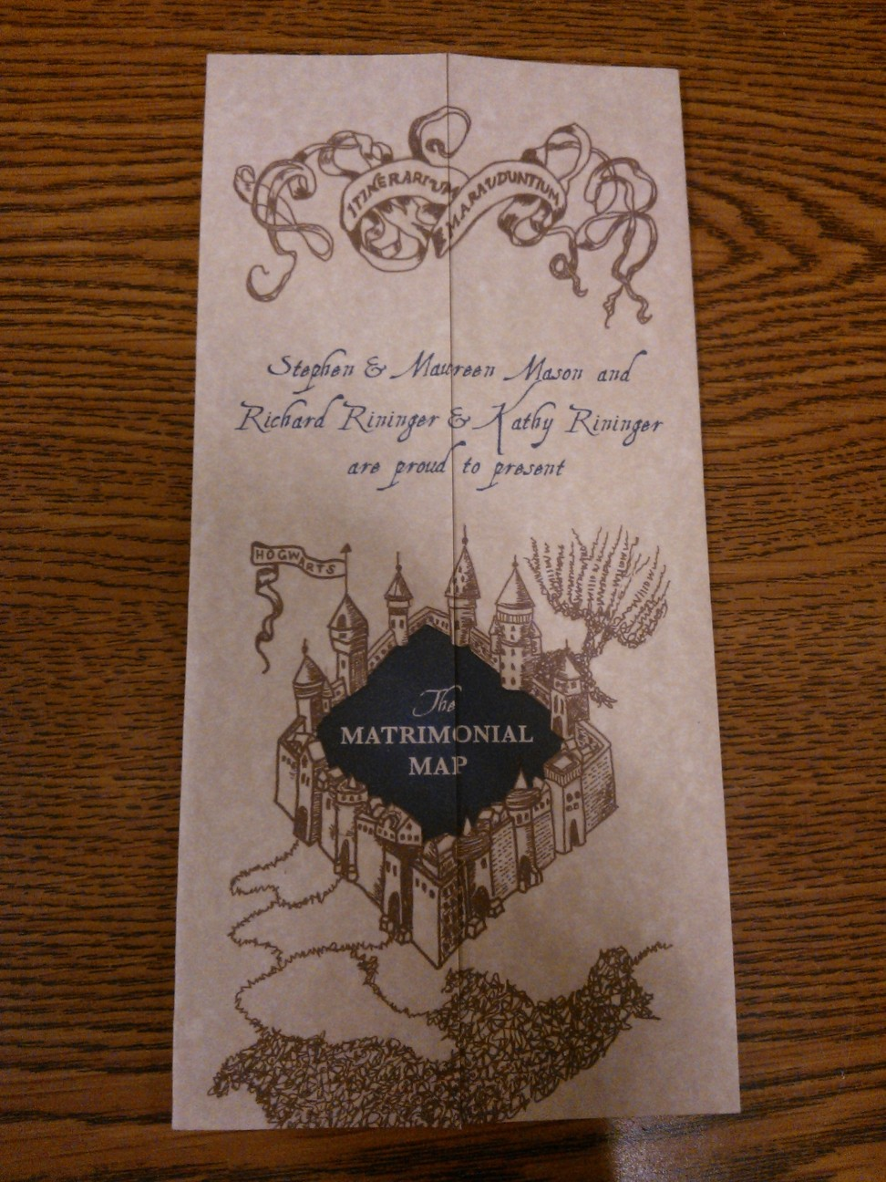 Our Harry Potter WeddingCustom Invitations The Bewitching Bride